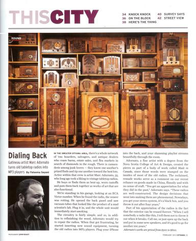 Ottawa Magazine 2015 - Interiors