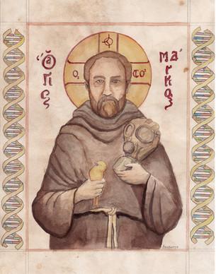 Saint Markus of Zibi (study)