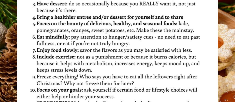 10 Healthy Holiday Tips