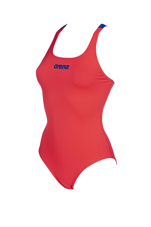 Arena Solid Swim Pro Red Blue