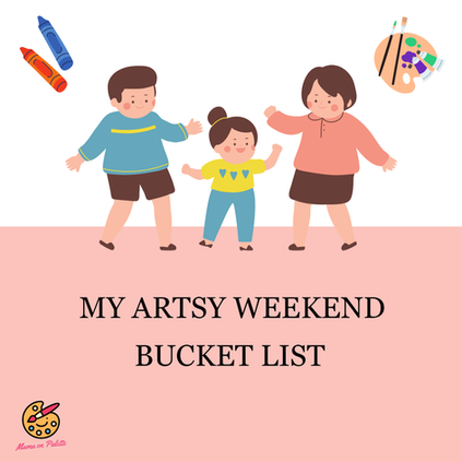 My Artsy Weekend Bucket List (January)
