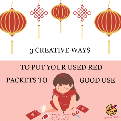 3 Creative Ways to Put Your Used Red Packets to Good Use