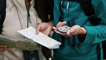 Kompass och karta