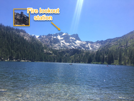 Sierra Buttes Fire Lookout & Sardine Lake