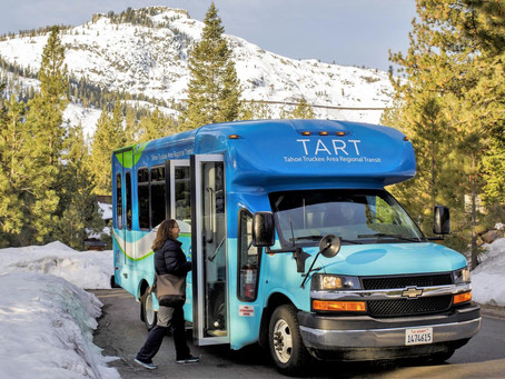 Hop on Truckee's Free Shuttle Downtown-Squaw-Northstar