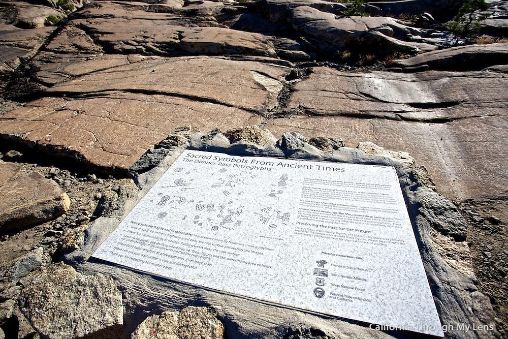 Petroglyph site, Donner Bliss