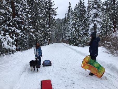 Best Free Sledding Hills in North Lake Tahoe, Truckee