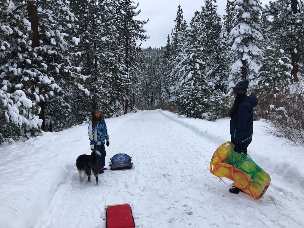 best free sledding hills in north lake tahoe truckee best free sledding hills in north lake