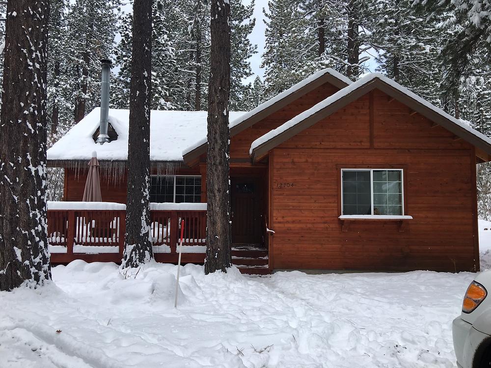 Donner Bliss cabin