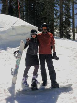Mel Snowboarding