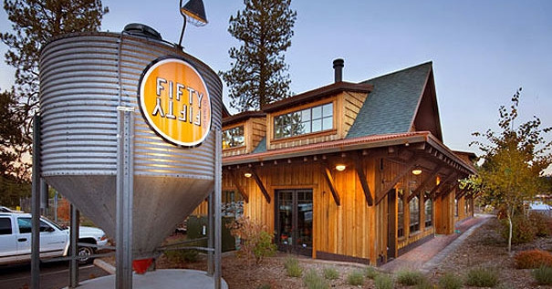 Fifty Fifty Brew Co, in Truckee, Close to Donner Bliss