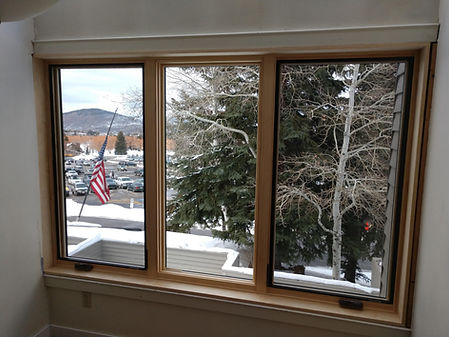 Window replacement at the Park City Ski Resort
