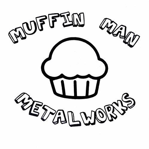 Muffin Man Sticker