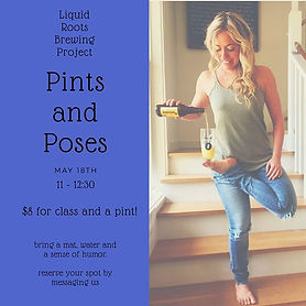 PINTS and POSES this Saturday at 11!_Mig