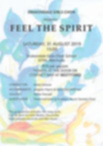 DRAKONDALE CONCERT Feel the Spirit poste