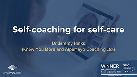 KYM NES LIFT Self Coaching for Self Care