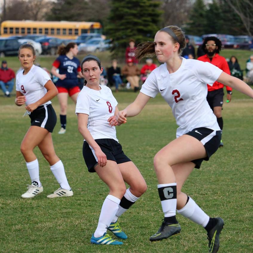 PHS Girls Soccer vs Lakewood 2