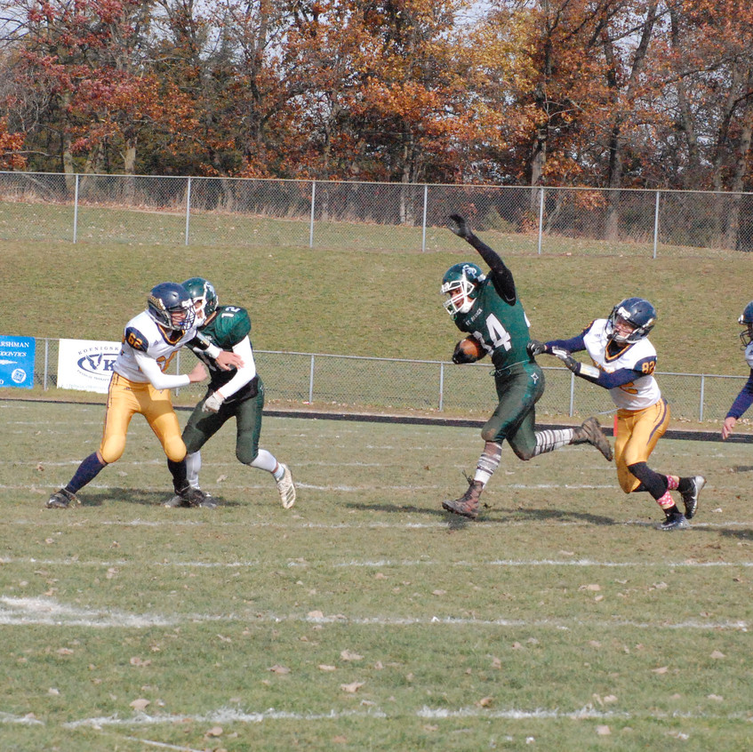 SPS football vs Kinde North Huron 3