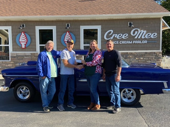 The Portland Cruisers Donate $700.00 to the Portland Food Bank