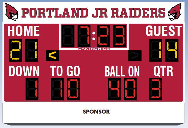 Concept Image for New Scoreboard.