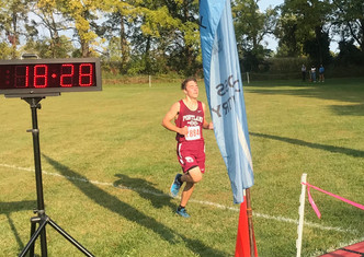 Portland's Carter Rosier Excels in CAAC-White Conference Cross Country Race at DeWitt