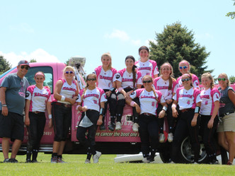 Raider Softball Just Short of $100K Target in  Fight Against Cancer