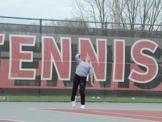 Portland Varsity Tennis Sweeps Lansing Catholic