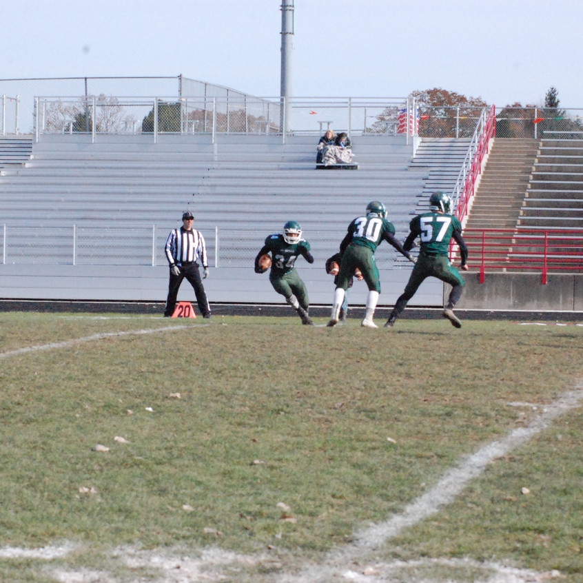 SPS football vs Kinde North Huron 1