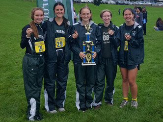 St Patrick Cross Country takes 3rd at Carson City Invitational
