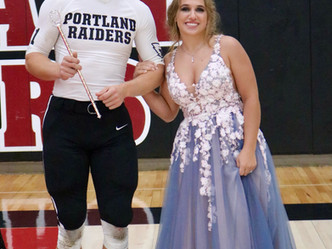 PHS Homecoming King and Queen Crowned