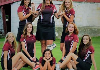 PHS Girls Golf Wins CAAC Title