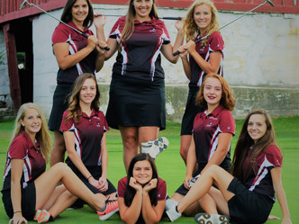 PHS Girls Golf Wins CAAC Title