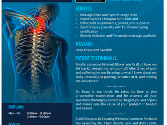 Craft Chiropractic Welcomes Dr. Tim Butcko to Portland Office