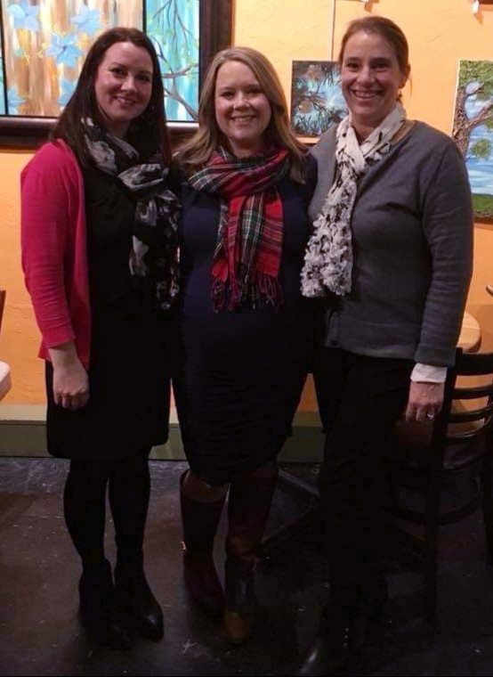Founders Michelle VanSlambrouck, Carri Thayer, and Holly Blastic