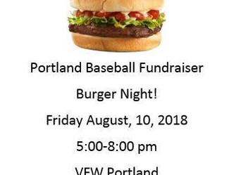 PHS Baseball to Hold Fundraiser August 10th