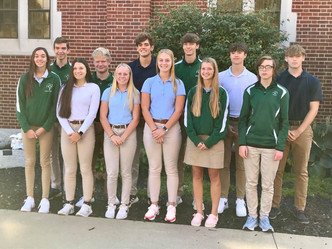 St. Patrick Homecoming Court 2021