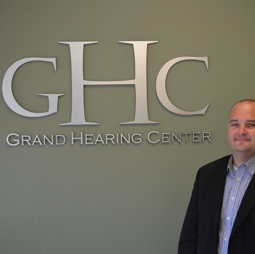 Doug Logel of Grand Hearing Center.