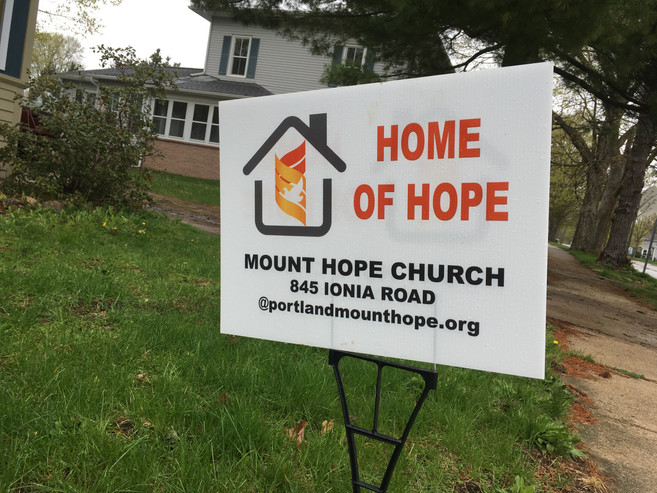 Local Church Spreading Hope And Lawn