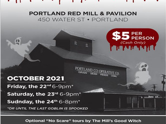 7th Annual Haunted Red Mill Kicks Off October 22nd