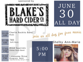 Portland's Shelby Ann Marie to Perform at Lake Odessa Fair June 30th
