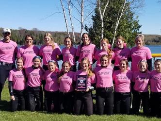 Shamrock Softball Splits with Dansville, Wins Title at Lake Leelanau Tournament