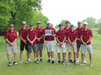 Portland High's Boys Golf 2021 CAAC White Divisional Tournament and Overall Divisional Team Champs