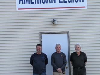 American Legion installs new Sign