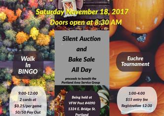 Portland Area Service Group Fall Fundraiser
