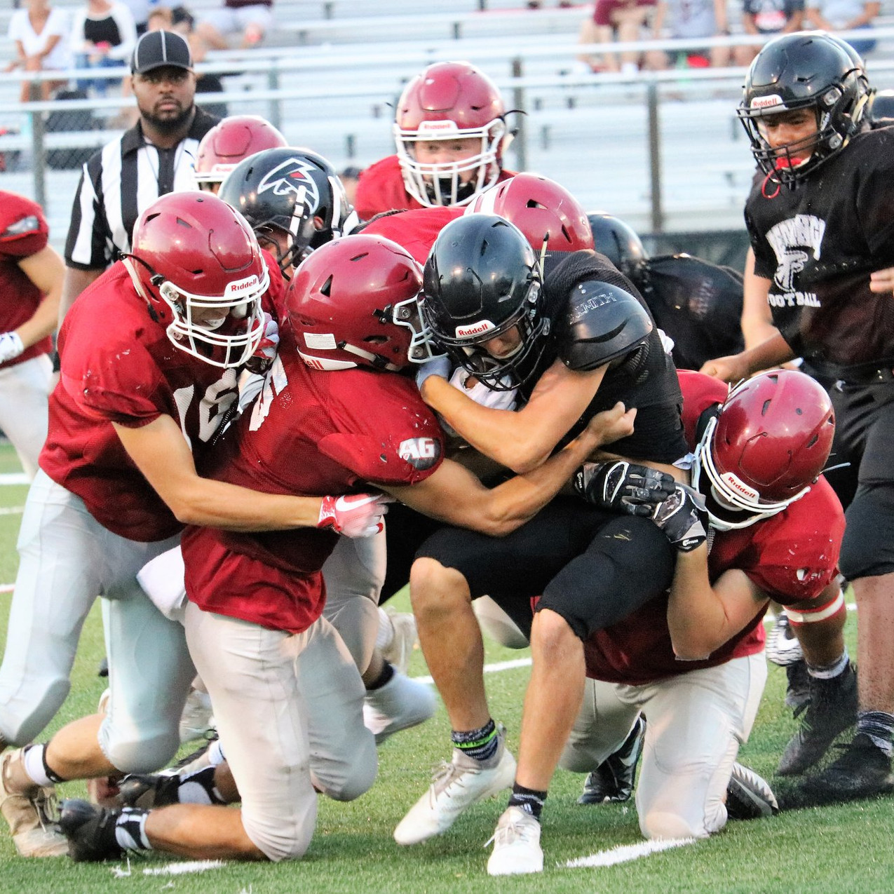 PHS Football Scrimmage 2018-2