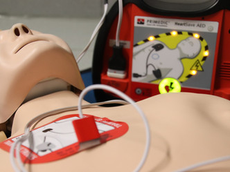 Portland High School Receives AED Donation from Wes Leonard Heart foundation