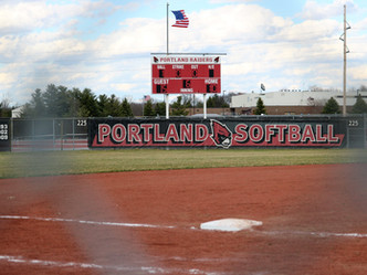 Portland Softball Splits with Red Wings