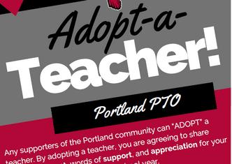 Portland PTO announces Adopt-A-Teacher Program