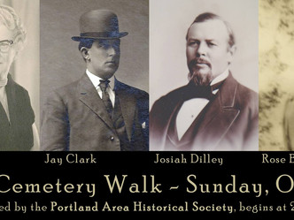 Historical Society to Hold Annual Cemetery Walk on Sunday, October 22nd