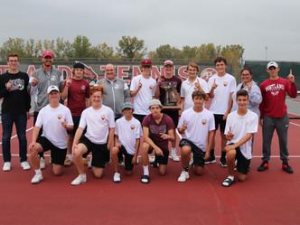 PHS Boys Tennis wins Regional Championship